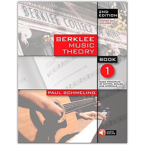 Berklee Press Berklee Music Theory Book 1, 2nd Edition (Book/Online Audio)