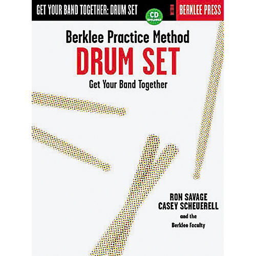 Hal Leonard Berklee Practice Method: Drum Set Book/CD