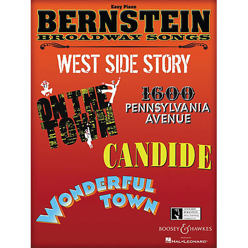 Boosey and Hawkes Bernstein Broadway Songs - Easy Piano