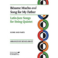 String Letter Publishing Besame Mucho and Song for My Father String Letter Publishing Series Slick Wrap Arranged by Renata Bratt
