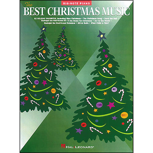 Hal Leonard Best Christmas Music for Big Note Piano