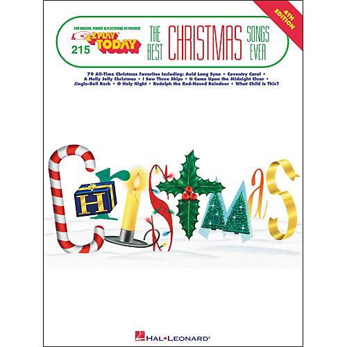 Hal Leonard Best Christmas Songs Ever 4th Edition E-Z Play 215