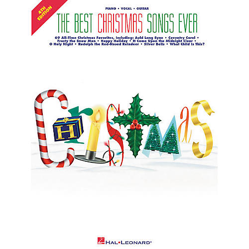 Hal Leonard Best Christmas Songs Ever