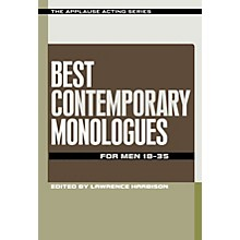Applause Books Best Contemporary Monologues for Men 18-35 Applause Acting Series Series Softcover by Lawrence Harbison