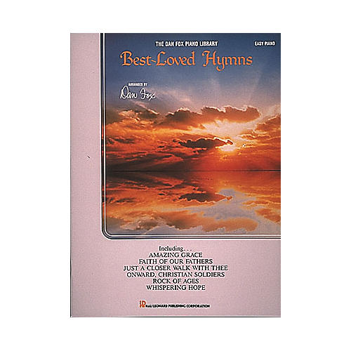 Hal Leonard Best-Loved Hymns For Easy Piano