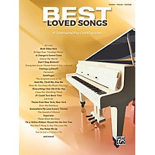 Alfred Best Loved Songs Piano/Vocal/Guitar Songbook