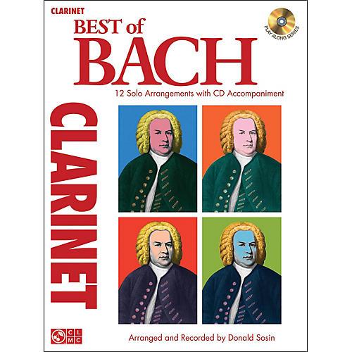 Cherry Lane Best Of Bach Clarinet