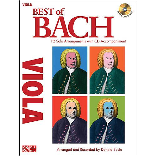 Cherry Lane Best Of Bach Viola