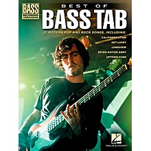 Hal Leonard Best Of Bass Tab