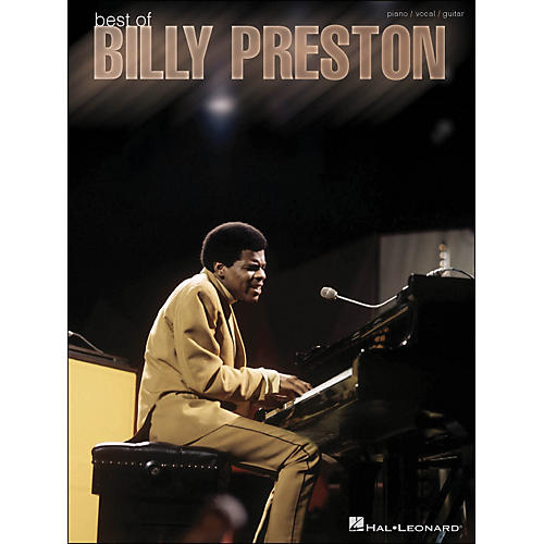 Hal Leonard Best Of Billy Preston arranged for piano, vocal, and guitar (P/V/G)