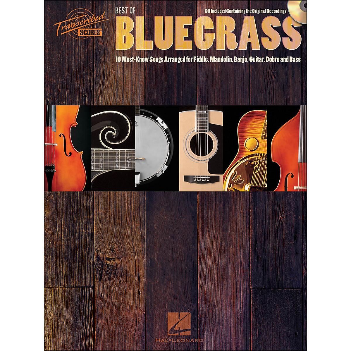 Hal Leonard Best Of Bluegrass Book/CD