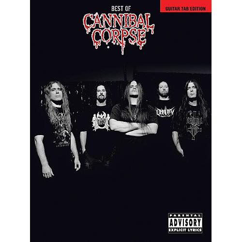 Hal Leonard Best Of Cannibal Corpse Songbook