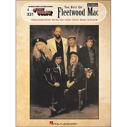 Hal Leonard Best Of Fleetwood Mac 2nd Edition E-Z Play 331