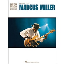 Hal Leonard Best Of Marcus Miller Bass Tab Songbook