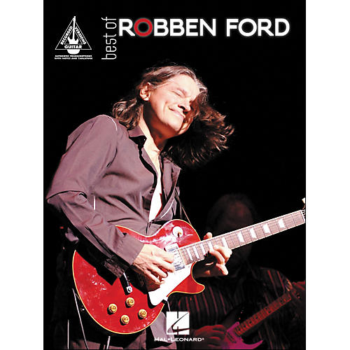 Hal Leonard Best Of Robben ford Tab Book
