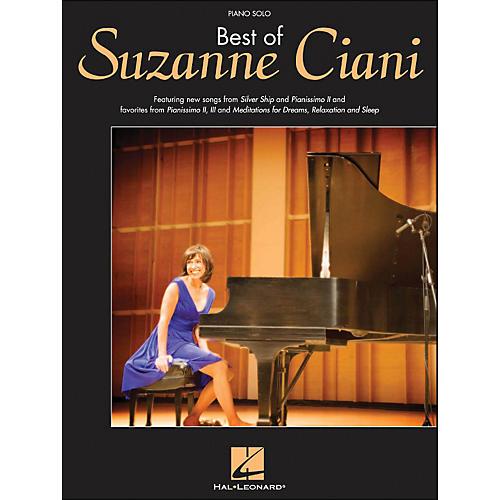 Hal Leonard Best Of Suzanne Ciani Piano Solo