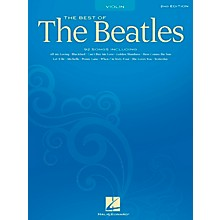 Hal Leonard Best Of The Beatles - 2nd Edition for Violin