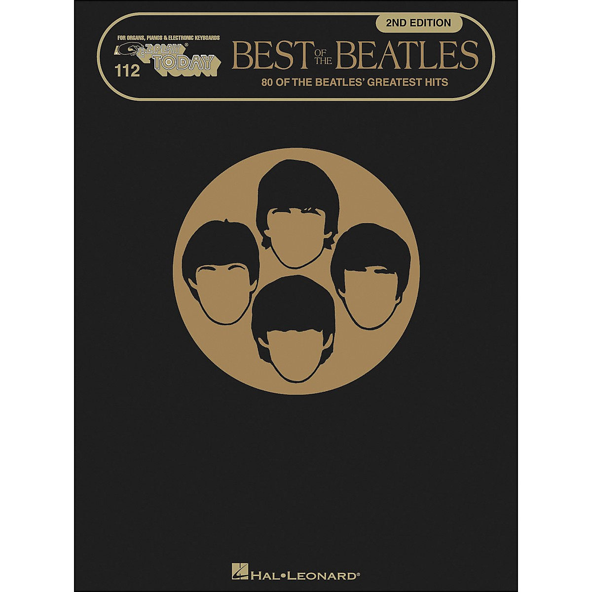Hal Leonard Best Of The Beatles 2nd Edition E-Z Play 112