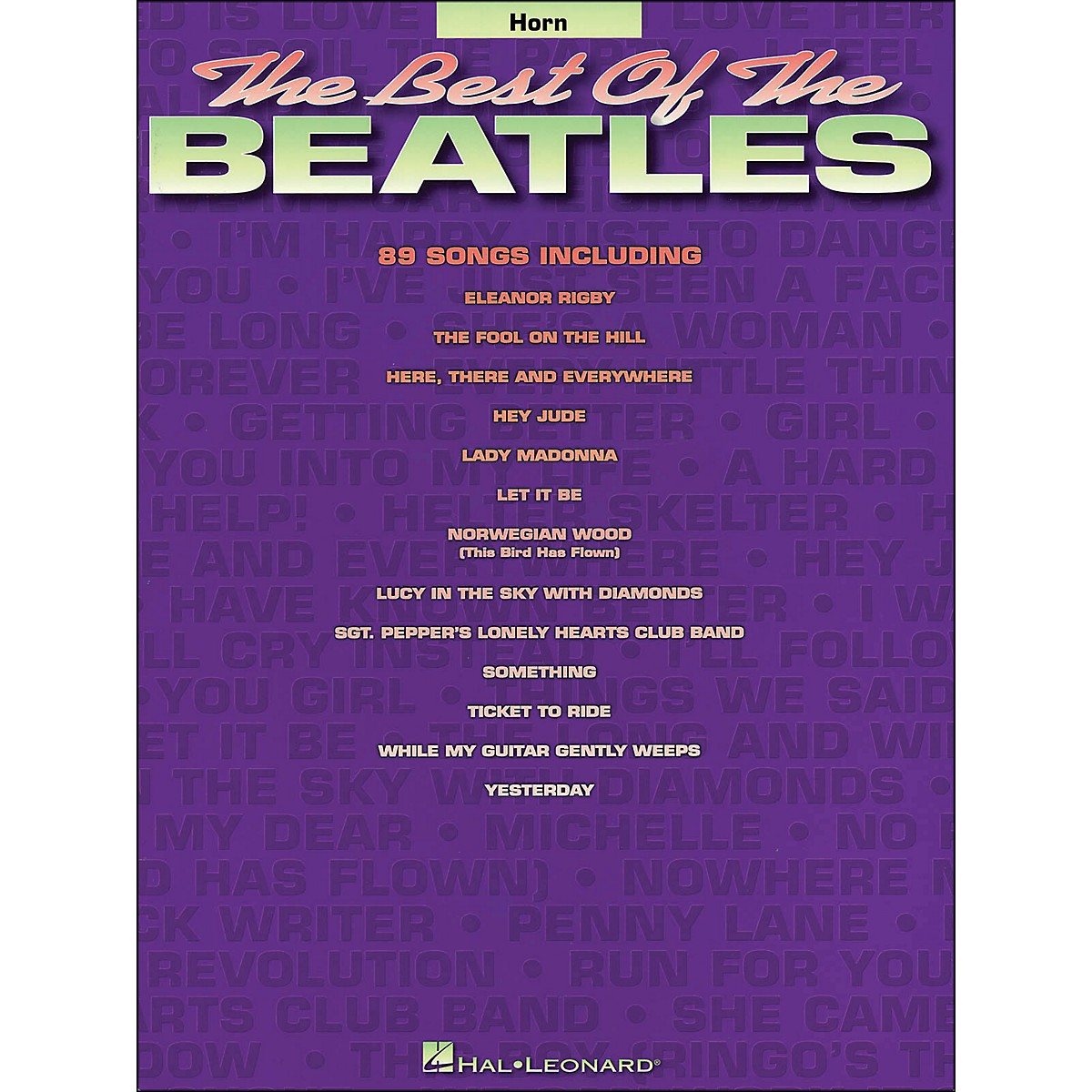 Hal Leonard Best Of The Beatles Horn