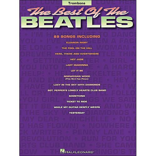 Hal Leonard Best Of The Beatles for Trombone