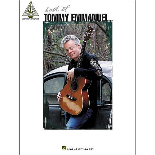 Hal Leonard Best Of Tommy Emmanuel Tab Book