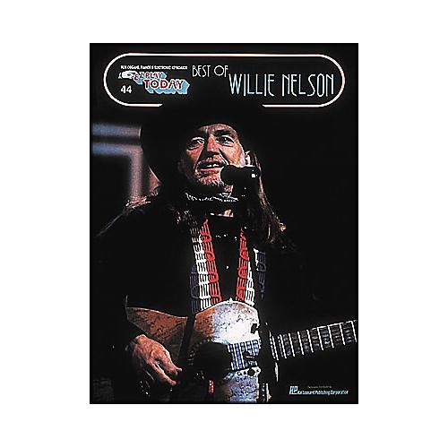 Hal Leonard Best Of Willie Nelson E-Z Play 44