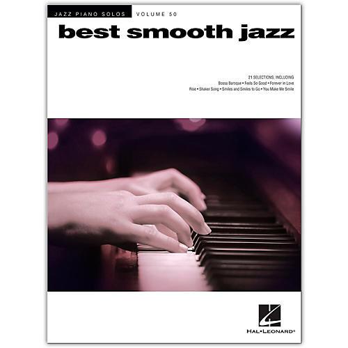 Hal Leonard Best Smooth Jazz - Jazz Piano Solos Series Volume 50
