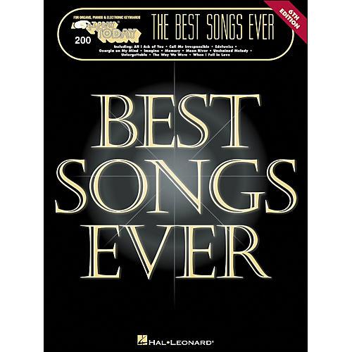 Hal Leonard Best Songs Ever 6Th Edition E-Z Play 200