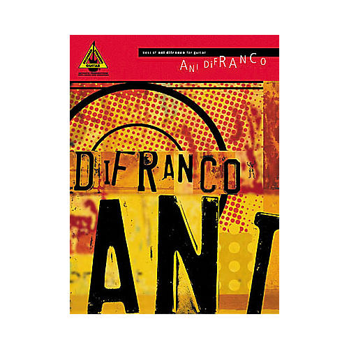 Hal Leonard Best of Ani DiFranco Book
