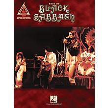 Hal Leonard Best of Black Sabbath Guitar Tab Songbook