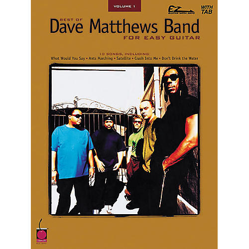Cherry Lane Best of Dave Matthews Band for Easy Guitar Volume 1