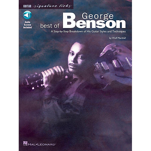 Hal Leonard Best of George Benson Signature Licks Book with CD