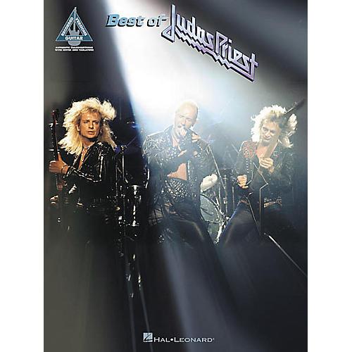 Hal Leonard Best of Judas Priest Guitar Tab Songbook