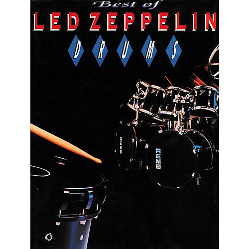 Alfred Best of Led Zeppelin Drums Book
