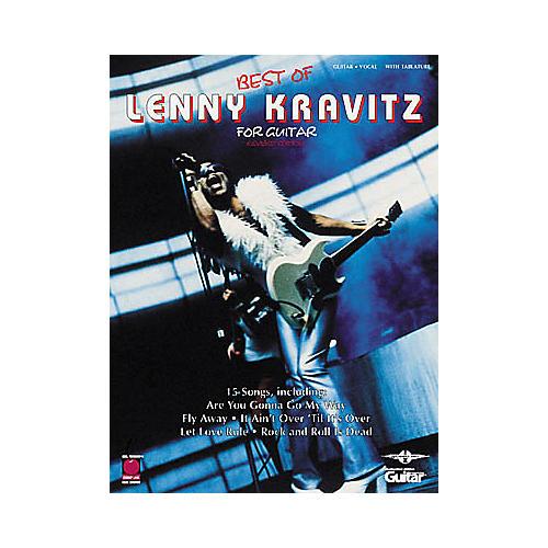Cherry Lane Best of Lenny Kravitz Guitar Tab Book