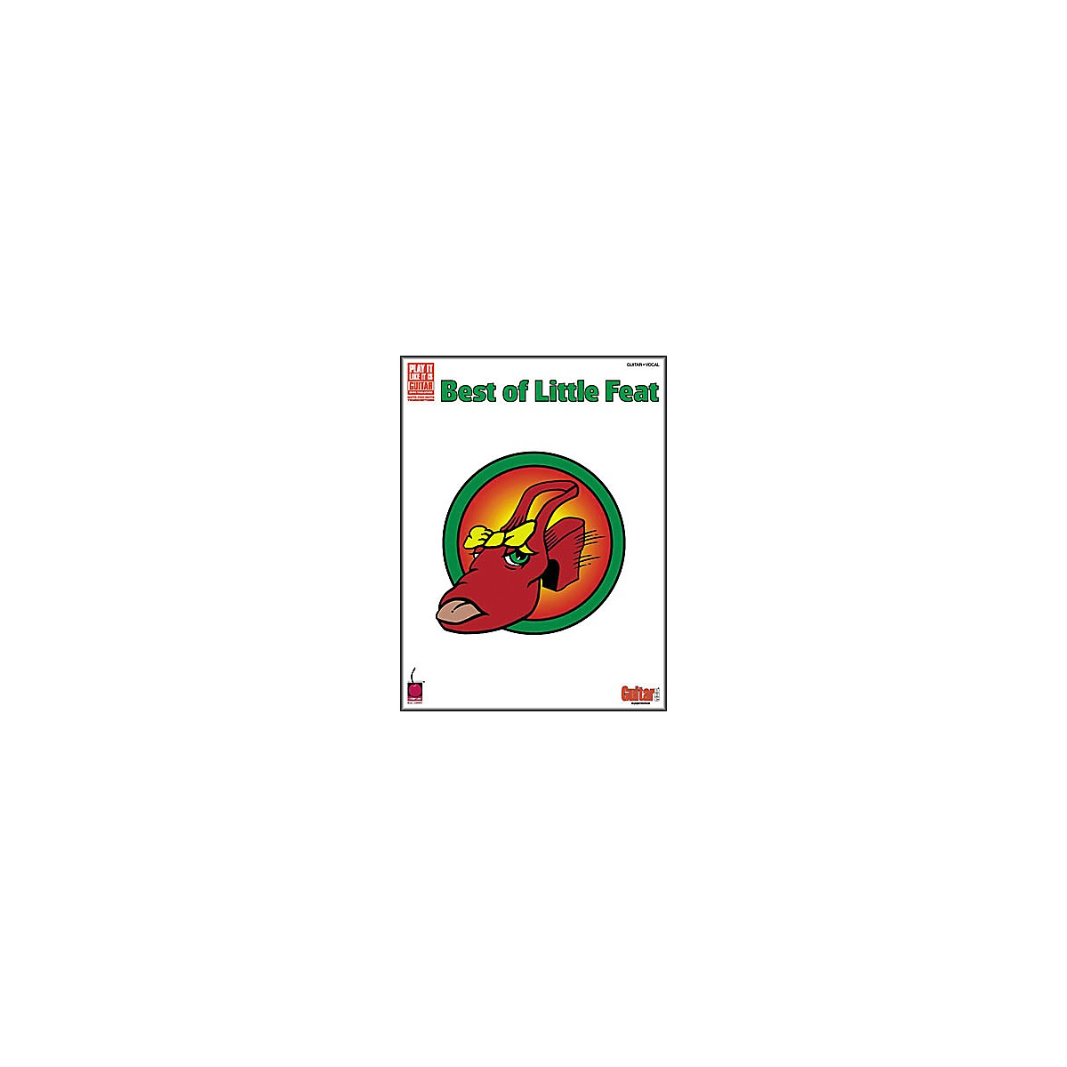 Cherry Lane Best of Little Feat Book