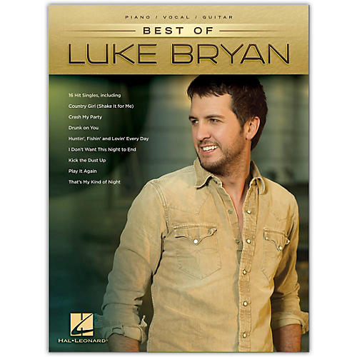 Hal Leonard Best of Luke Bryan - Piano/Vocal/Guitar Artist Songbook