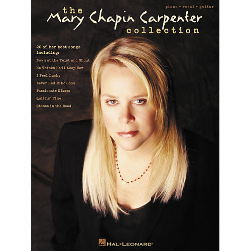 Hal Leonard Best of Mary Chapin Carpenter Piano/Vocal/Guitar Songbook