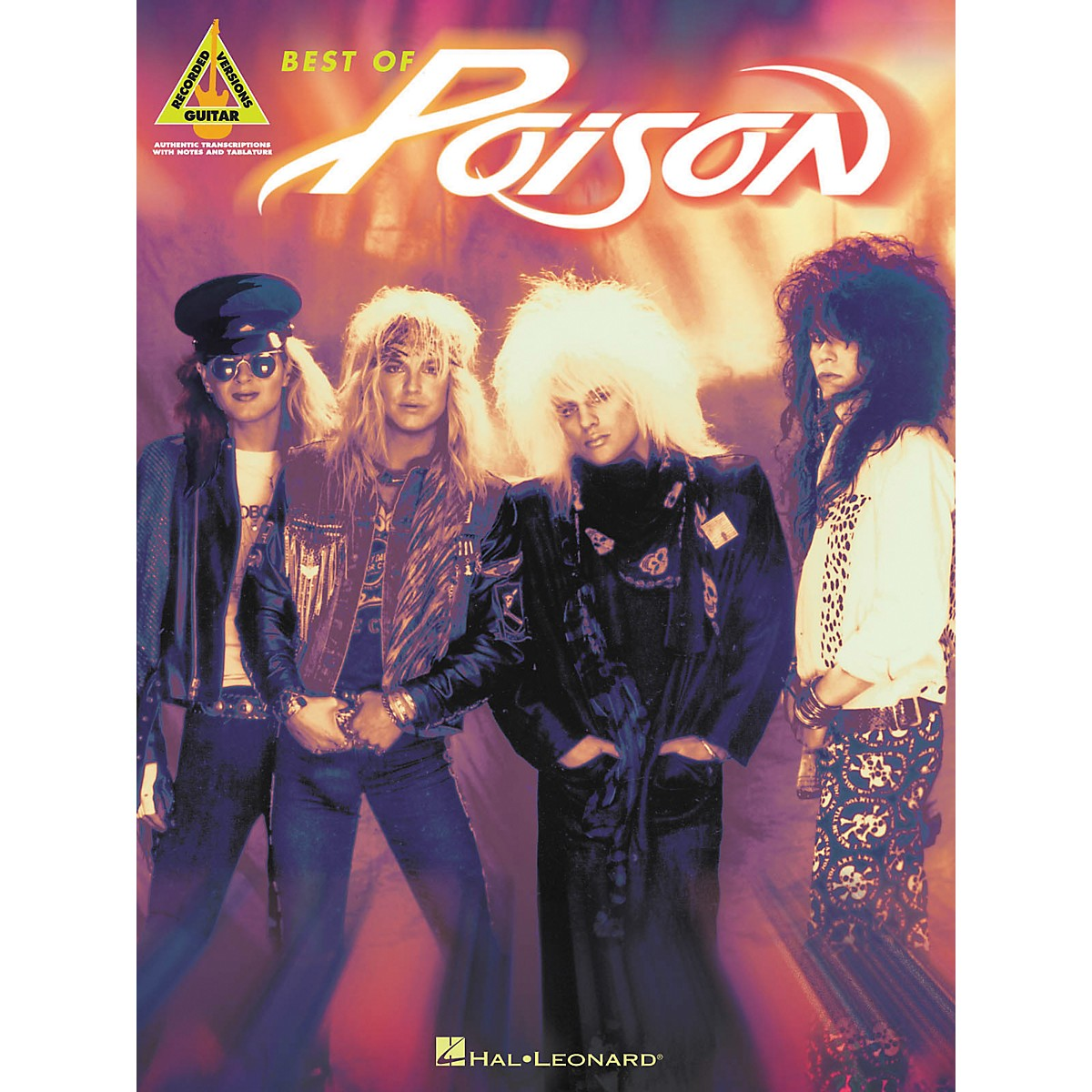 Hal Leonard Best of Poison Guitar Tab Songbook