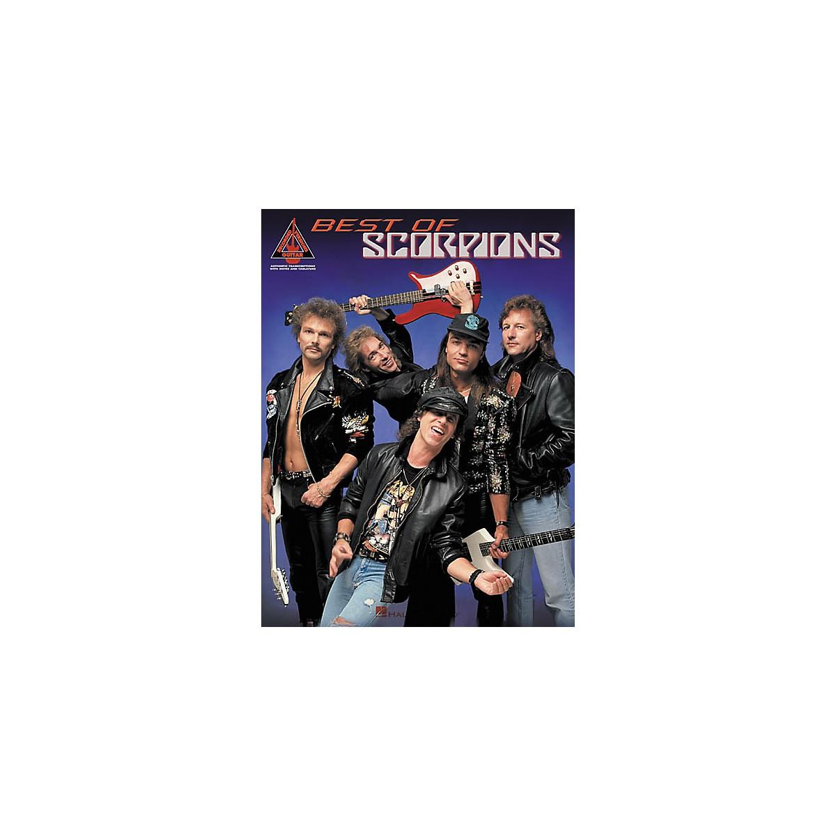 Hal Leonard Best of Scorpions Guitar Tab Songbook