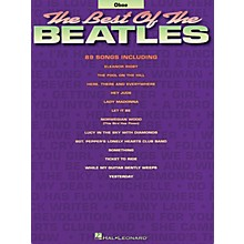 Hal Leonard Best of the Beatles for Oboe Chart Series Book Performed by The Beatles