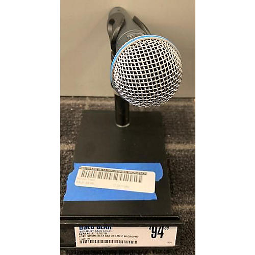 used shure beta 58a dynamic microphone guitar center. Black Bedroom Furniture Sets. Home Design Ideas