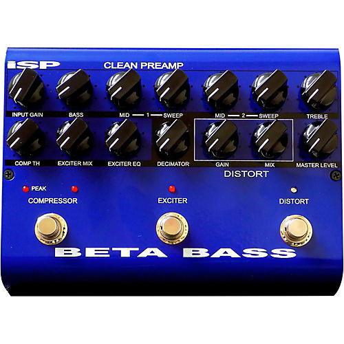 Isp Technologies Beta PreAmp Bass Effects Pedal