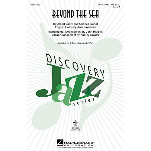 Hal Leonard Beyond the Sea (Discovery Level 1) VoiceTrax CD by Bobby Darin Arranged by Audrey Snyder