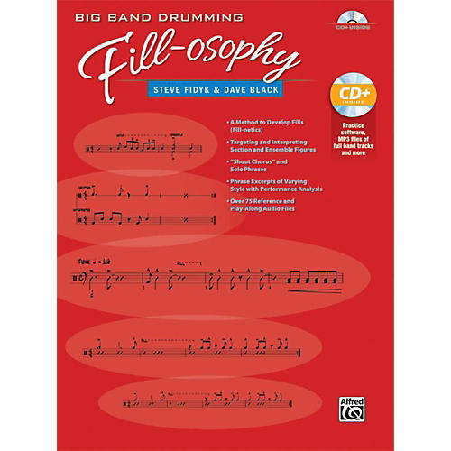 Alfred Big Band Drumming Fill-osophy by Steve fidyk Book & MP3 CD