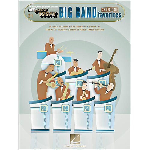 Hal Leonard Big Band Favorites 2nd Edition E-Z Play 31