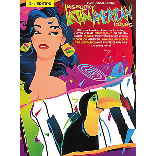 Hal Leonard Big Book Of Latin American Songs Piano, Vocal, Guitar Songbook