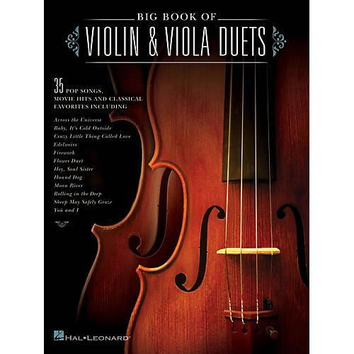 Hal Leonard Big Book of Violin & Viola Duets String Duet Series Softcover
