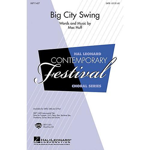 Hal Leonard Big City Swing ShowTrax CD