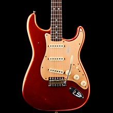 Big Head Stratocaster Journeyman Rosewood Fingerboard Limited Edition Electric Guitar Faded Aged Candy Apple Red
